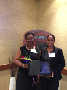 Mentor of the Year - Corporate - Aerospace - Carol Wooden and Tamara Williams
