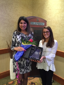 Mentor of the Year - Nonprofit - Cultural Diversity Graciela Katzer (left) and Chantal Sethi