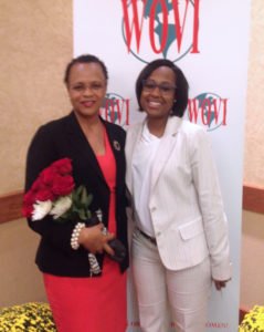 Diann H. Smith (left) – Texas Health Resources (with Michelle Johnson, Nominator)